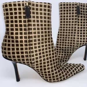 Jimmy Choo Vero CUOIO Pony hair Boot Booties 6